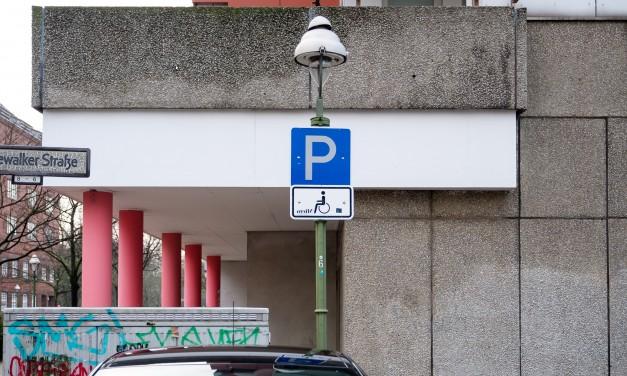Parkplätze für Schwerbehinderte in Mannheim