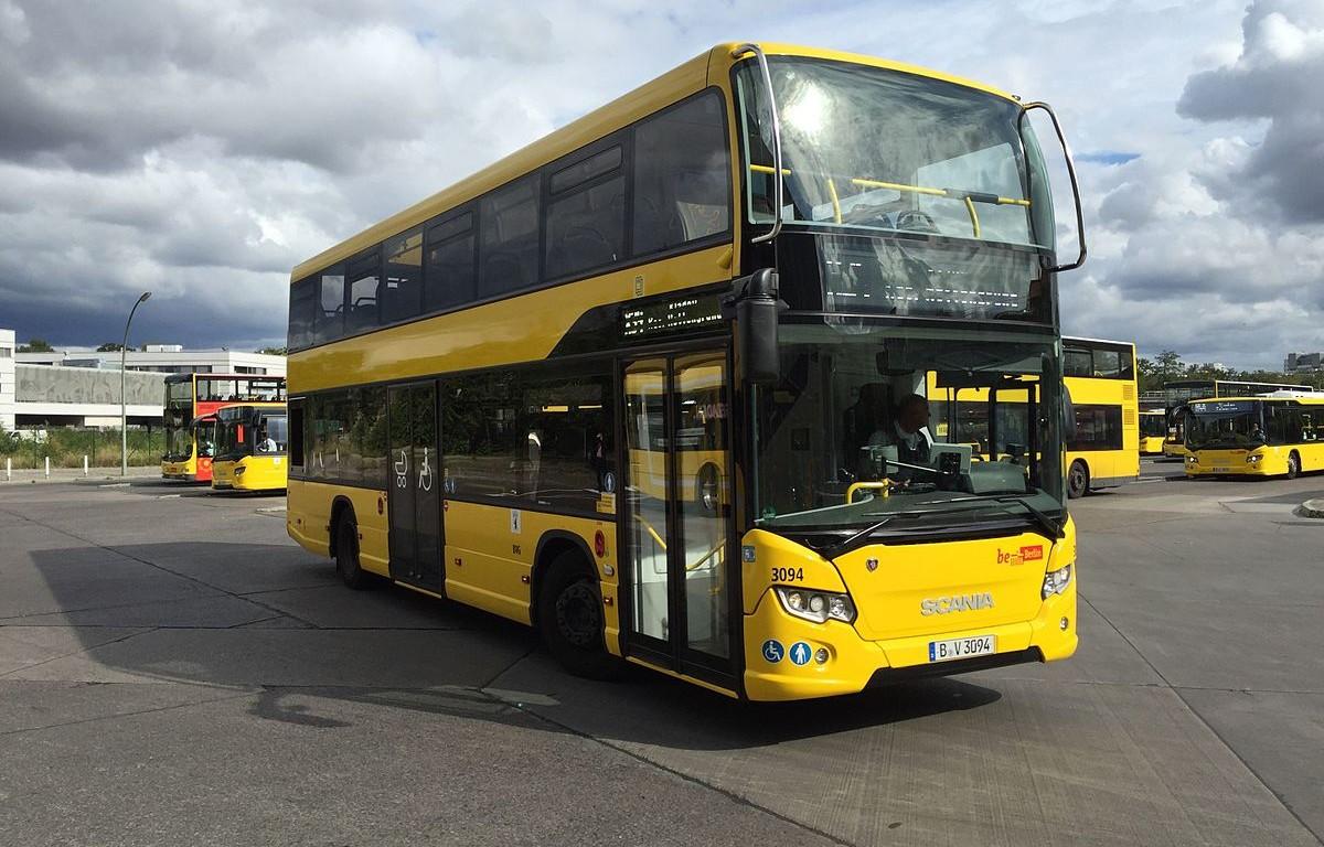Bus, Straßenbahn und S-Bahn
